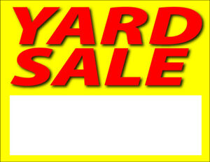 Yard sale today Monday Labour day  176 Garrard road Whitby
