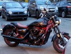 VULCAN 2008 - Moto de collection, version spéciale, RARE