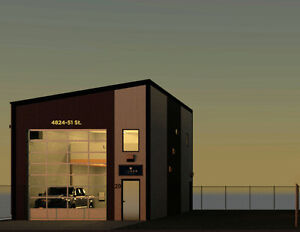 Commercial Warehouse & Lot - Stand Alone Bldg.