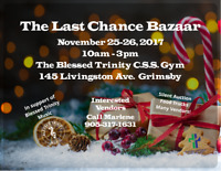 The Last Chance Bazaar at Blessed Trinity