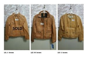 Women's Leather Jackets for LESS