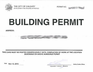 Basement renovation permit drawings services in calgary for Architectural plans and permits