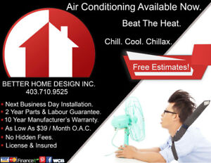 CENTRAL AIR CONDITIONING SPECIALS!