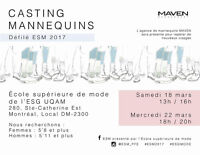 CASTING MANNEQUIN 22 MARS | MODEL CASTING MARCH 22ND