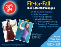 Fit-For-Fall Personal Training Promo - 20% Off