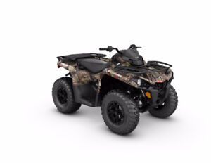 2017 Can Am Outlander DPS 570 / Brand New
