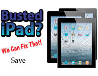 Ipad LCD repair With warranty cell phone techs on site
