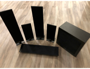 KEF T105 Six Speaker Home Theatre System **Great Deal**