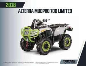 2018 Textron Alterra MudPro 700