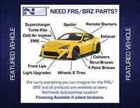 Scion Frs and Subaru Brz parts and accessories