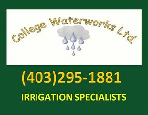 IRRIGATION WINTERIZATION / SPRINKLER BLOW-OUTS