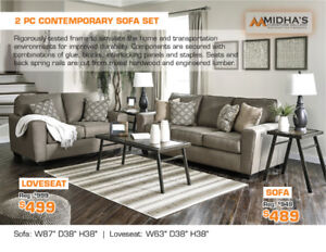 All Brand names quality sofa sets Now on Sale up to 50% OFF!!