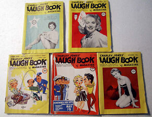 22 copies of Laugh Book Magazine, 1955-1961