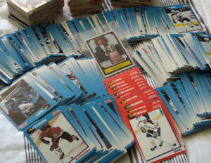 PRICED 2 SEL1,400+ Hockey Card Collection and 1991 Wayne Gretzky