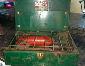 Antique Coleman camping stove $50.00