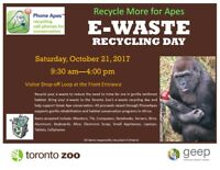 Toronto Zoo E-waste Recycling Collection Event