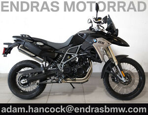 2017 BMW F800GS - Black Storm Metallic