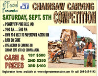4P Festival Chainsaw Carving Competition