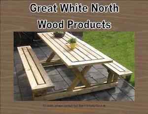 Custom Made Picnic Tables, Outdoor Furniture & Beverage Coolers