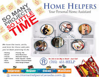 Call Home Helpers for all your home & property maintenance needs