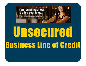 $50K or More Unsecured Business line of Credit -Bad Credit OK