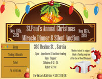 St. Paul's Annual Christmas Miracle Dinner & Silent Auction