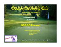 Optimist Club of Guelph - Golf Tournament