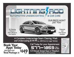 Lightning Rod Undercoating Services