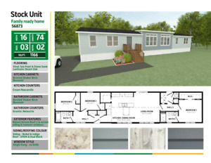 BRAND NEW Mini Dream Home within weeks! $360.00 Bi-weekly