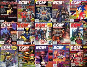 Video Game Magazines, EGM Buyers Guides, EGM2, Gamepro