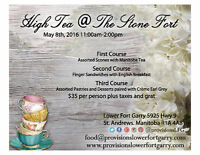 Mother's Day High Tea at The Stone Fort!