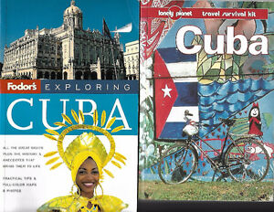 Going to Cuba !!!  Two Travel Books on Cuba $5