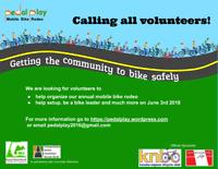 Volunteers wanted - outdoor bike event