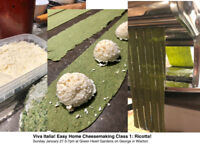 Cheesemaking Class! Learn to make Ricotta, Fresh Pasta & Sauce!