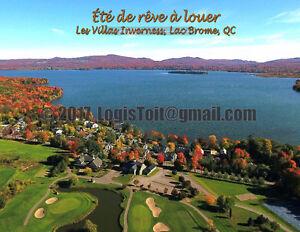Condo/Chalet à Louer - Lac Brome - Accès au lac