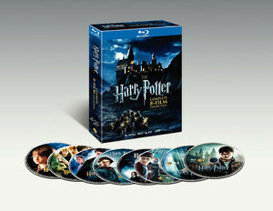 Harry Potter: Complete 8-Film Collection BR -- EXCELLENT