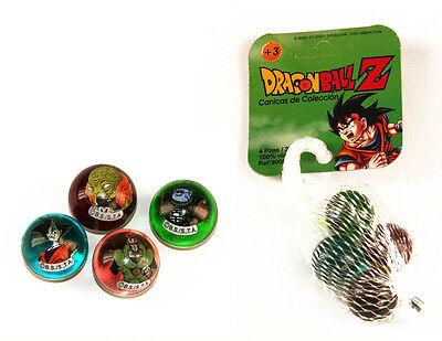 22430. Murmelbahn Dragonball Z, Mesh mit 4 Bälle aus Glas De 22mm (Dragon Ball Z Bälle)