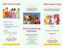 FRENCH DAY CAMP FOR KIDS