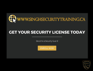 Online Security Guard License Training Course Only $79.95 !!