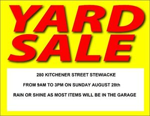 HUGE YARD/GARAGE SALE