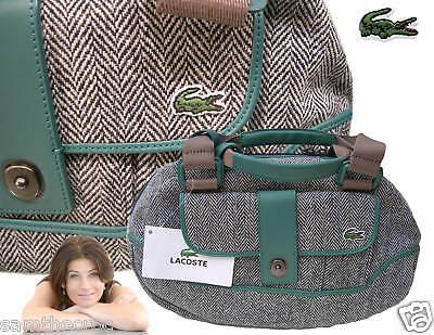 Lacoste Damen Bowlingtasche Handtasche Mode 5 Colvert Blau