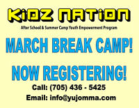South Barrie March Break Camp with Kidz Nation!