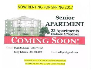 SENIOR APARTMENT FOR RENT  IN LONG SAULT Cornwall Ontario image 1