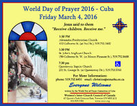 World Day of Prayer 2016 - Cuba