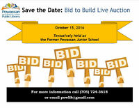 Bid to Build Live Auction