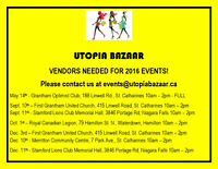 Utopia Bazaar - Vendors Needed for 2016