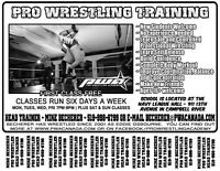 Pro Wrestling Academy - Accepting new students