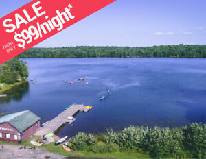 MUSKOKA Cottages For Rent From $99/Night | BONNIE LAKE RESORT