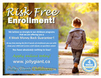 Why Choose Jolly Giant Childcare?