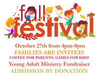 Kids Carnival (5-12) w/coffee & timbits for Parents! By donation